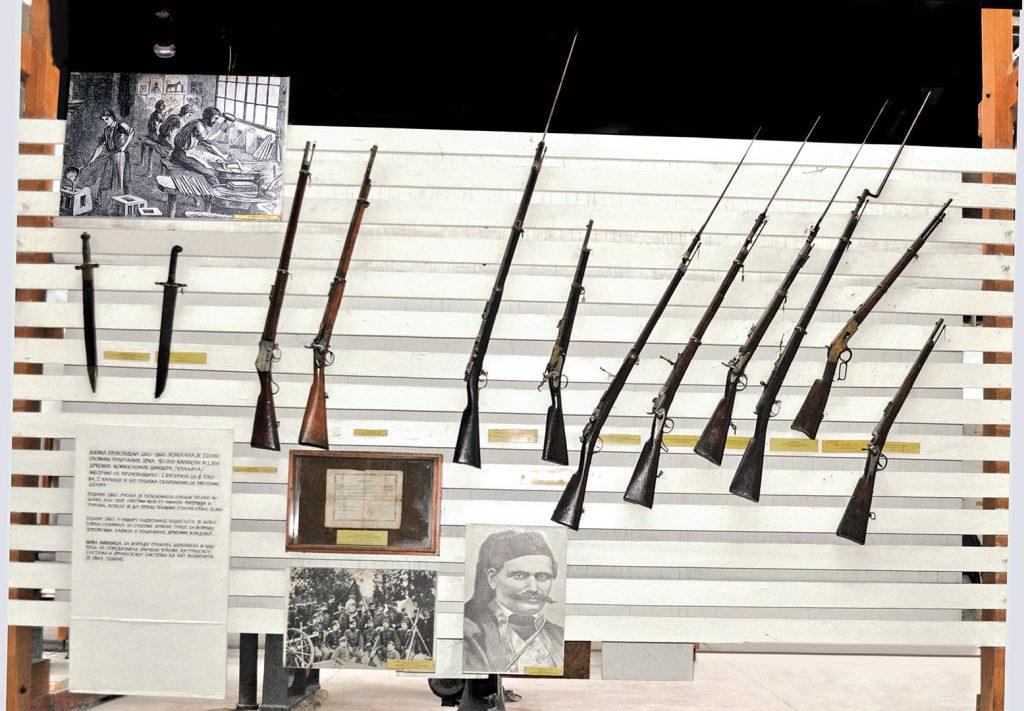Oružje prepravljano u VTZ 70-tih godina 19. veka